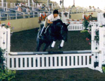 Nance and Wicked, Los Angeles Equestrian Center 1995